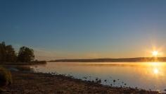 Sunrise over lake (2)
